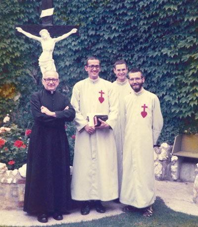 Our brothers and Fr. Henri Saey