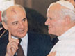 Rencontre Jean-Paul II et Gorbatchev