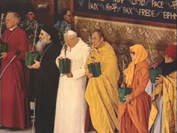 Interreligious meeting of Assisi