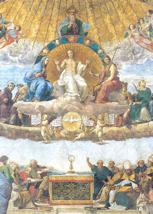The Argument of the Blessed Sacrament