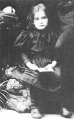 Edith at the age of three.