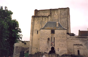 Ruins of the Château of Chinon