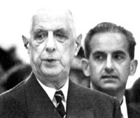 De Gaulle and Peyrefitte
