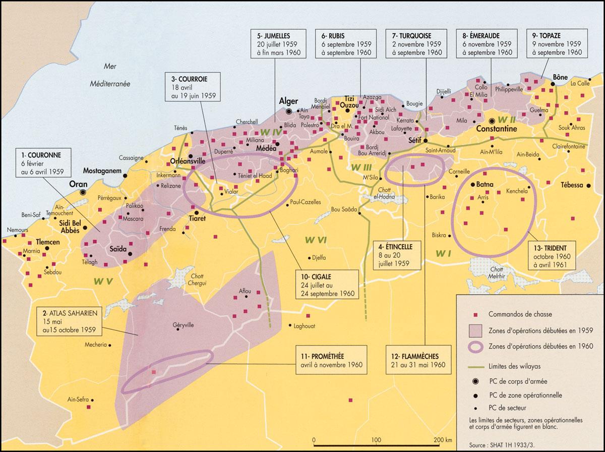Carte Algerie Beni Saf.The Algerian War 7 The Great Betrayal 1958 1961
