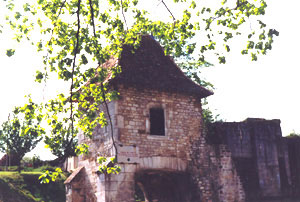 Ruins of the Château of Vaucouleurs