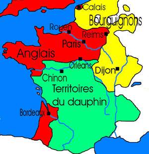 Domremy to Chinon