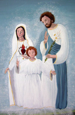 Holy Family at Fatima.