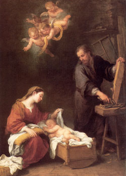 Holy Family, Murillo.