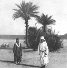 Father de Foucauld in the Sahara.