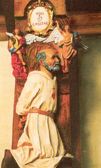 Father de Foucauld, sculpted by Brother Henry of the Cross.