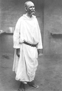 Last photograph of Brother Charles de Jésus, in 1915
